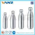 Bala- en forma de vacío de acero inoxidable frasco/termo