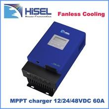 12v 24v 48v Gel battery 15A mppt charge controller Solar Regulators with RS232