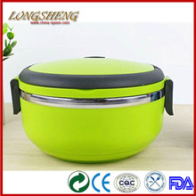 Korea Style Colorful Steel Food Carrier F0502 Thermo Bento Box