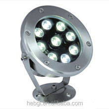 IP68 6W LED underwater Light factory price RGB led pool light