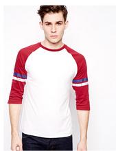 High Quality Cheap Baseball 3 4 Sleeve T-Shirt Print