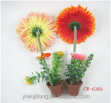 Wholesale Rural plants flower pot ballpoint pen Ads ball-point pen