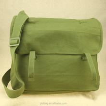 men canvas military shoulder bag