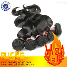 Chunky Black 1b Color Remy 100% Russian Virgin Hair Bands