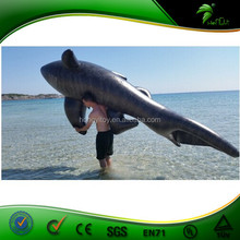 bella vendita calda 2015 custom squalo gonfiabile gigante