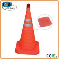 Collasible Traffic Cone Retractable Traffic Cone