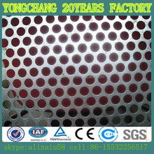 304 stainless steel round hole perforated sheet for decorative suface