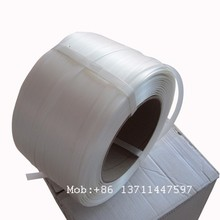 2014 hot sale corded polyester strapping for wire buckle