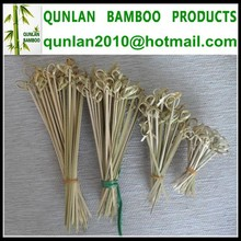 Eco-friendly Bamboo Knotted Skewer