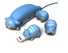 Newest lovely animal shape usb flash drive cartoon64GB hot sale