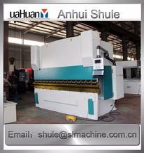 Stainless Steel Hydraulic Bending Machine Low-noise sound Copper Sheet Press break machine WC67Y-63t/2500