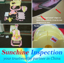 Baby Walker Quality Inspection / Ensure Product Safety and Conformity / Sunchine Inspection Your Quality Partner in China