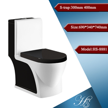 HS-8043 colored toilet bowl,ceramic sanitary ware toilet,washdown toilet