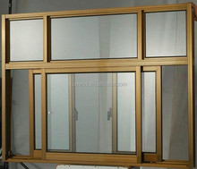 Hot Sale Aluminum Sliding Window, Doble Glass Window