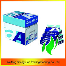 wood pulp super white a4 paper 80 gsm double a