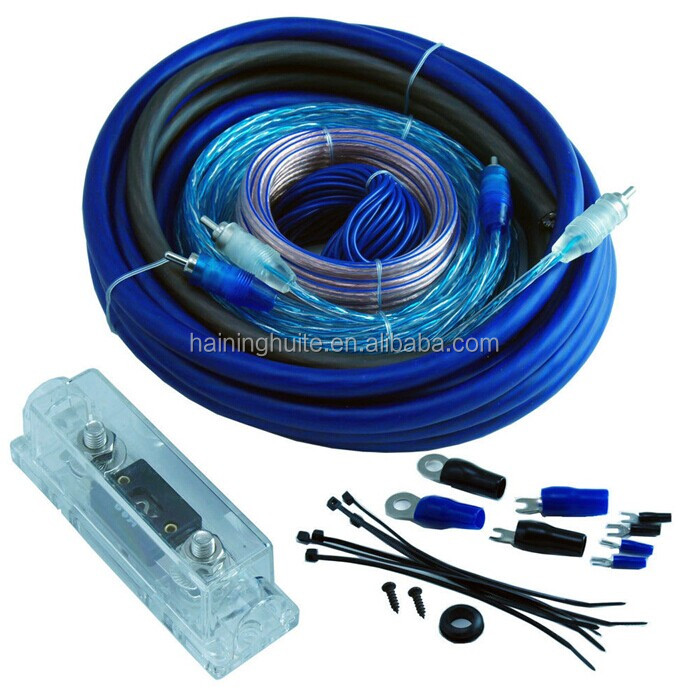 4 Gauge Car Audio Amplifier Wire Kit Signal Cable - Buy Audio Power ...