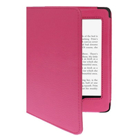 Litchi Texture Leather Cover for Amazon Kindle Paperwhite Case