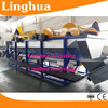 pet flakes wash recycling machine/recycled pet perform