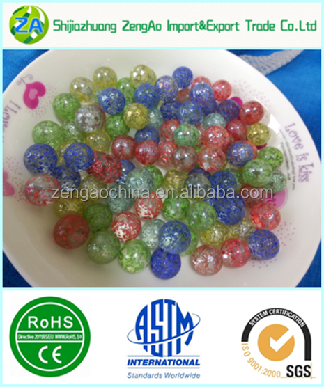Solid White Toy Marbles : Clear glass marbles colored solid