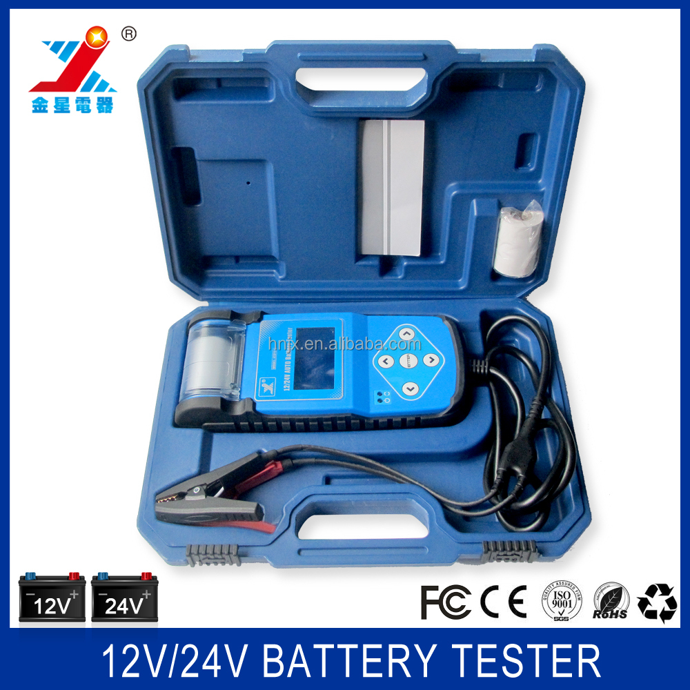 Auto Battery Tester Product : V auto car battery tester with printer buy