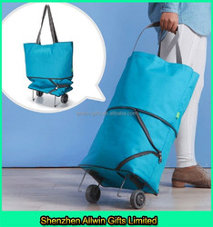 High Quality Foldable Shopping Bag,Trolley Shopping Bag With Wheels