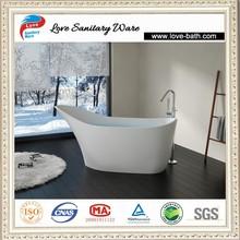 Custom Size Bathtubs,Freestanding Stone Baths center drain location soaking solid surface bathtub