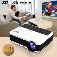 home mini cinema dvd home theater mini Android WIFI hd 1080p full hd short throw projecto portable cheap full hd projector