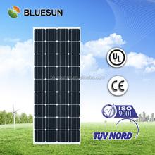 Alibaba best supplier monocrystalline 130w 12v solar panel