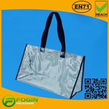 transparent pvc beach bag