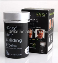 Hair building fibers, Organic Hair Thickening Fibers with Hair Locking Spray