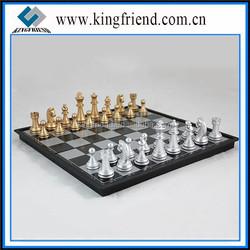 Beautiful Zinc Alloy Metal International Chess