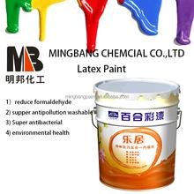 Super white interior wall coating