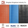 Coin pattern rubber flooring in roll