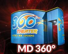 8D cinema with 360 degree screen - 12D/11D/10D/9D/8D/7D/6D/5D/4D/3D cinema/movie/film