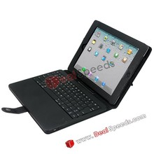 5000mAh Power Bank Bluetooth Keyboard covers Leather Case for iPad 2
