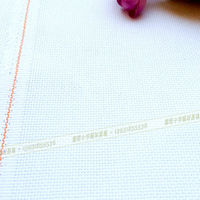 Special offer super quality 14CT 100% cotton cross stitch fabric (China cloth) of CA Grade ,double yarn MOQ 3000 meters