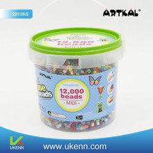 NO.1 ARTKAL 2012 KS 12, 000 5mm perler beads learning games