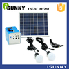 Hybrid solar generation system rechargeable emergency/camping solar power generator