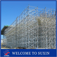 Hanging Scaffolding System For Construction