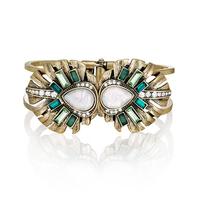 Wholesale hot sale european exaggeration vintage heavy copper bracelet for women, fashion metal bracelet