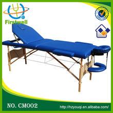 Portable beauty salon facial bed/cheap massage table