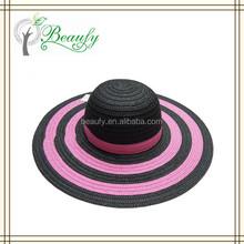 Fashion Ladies' Striped Summer Beach Hat