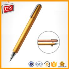 Metal pen pipe,jewel ballpoint pen,twist metal ball pen