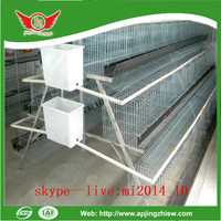 Poultry layer cages welded wire mesh for chicken farm
