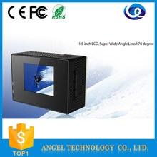 Go pro hd camera wifi 12 mega 4k full hd sports cam 1.5inch LCD wifi control 1080p 60fps Car DVR helmet sport DV