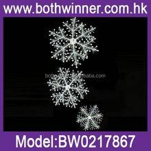QB111 christmas metal snowflake ornament