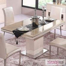 marble mosaic top dining table sets