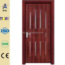 เจ้อเจียงafolmolifeประตูไม้ที่เป็นของแข็งจีนผลิต/ประตูเหล็กด้านนอก