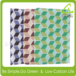 China custom printing leather magnetic cover for ipad 2/3/4 for Samsung galaxy tablet case