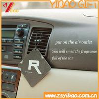 2015 lastest Custom design various shape Car Paper air freshener/Perfume